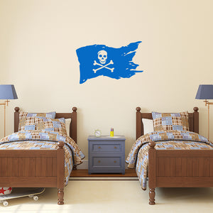Pirate flag | Wall Decal | Wall Art | Adnil Creations