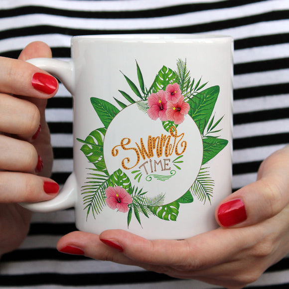 Summer time | Mug | Mug | Adnil Creations