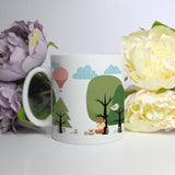 Cute Scandi Forest | Mug | Mug | Adnil Creations