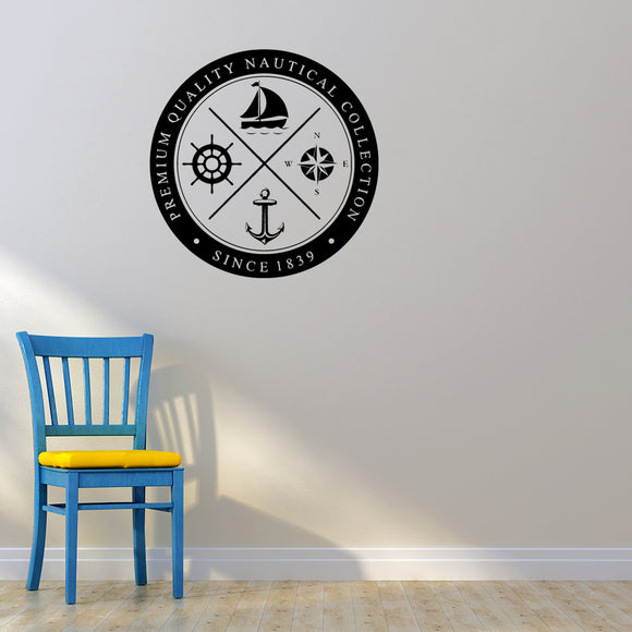 Premium quality nautical collection | Wall Decal | Wall Art | Adnil Creations