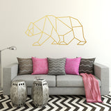 Geometric Bear | Wall Decal | Wall Art | Adnil Creations