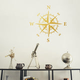 Compass Rose | Wall Decal | Wall Art | Adnil Creations