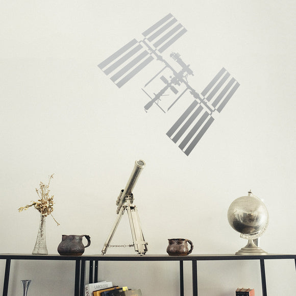 ISS International Space Station | Wall Decal | Wall Art | Adnil Creations