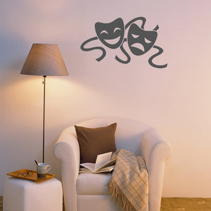 Theatre masks | Wall Decal | Wall Art | Adnil Creations