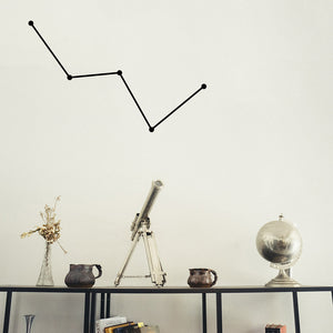 Cassiopeia Constellation | Wall Decal | Wall Art | Adnil Creations
