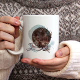 Rabbit and full moon | Mug | Mug | Adnil Creations