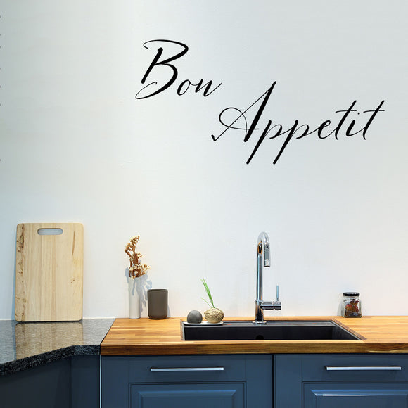 Bon appetit | Wall Quote | Wall Quote | Adnil Creations