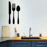 Cutlery | Wall Decal | Wall Art | Adnil Creations