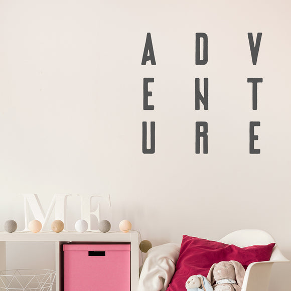 Adventure | Wall Quote | Wall Quote | Adnil Creations