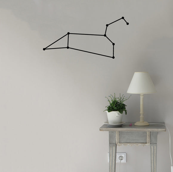 Leo Constellation | Wall Decal | Wall Art | Adnil Creations