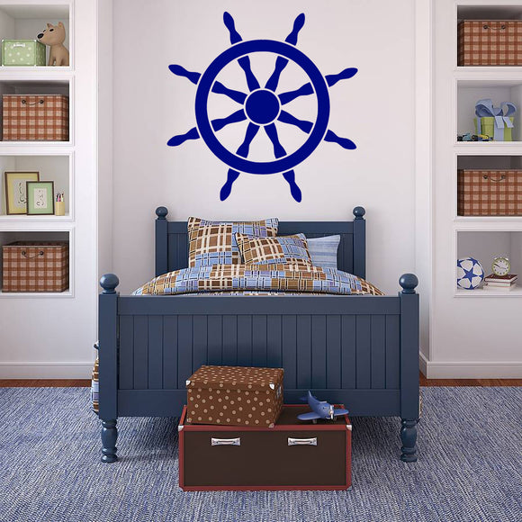 Ships wheel | Wall Decal | Wall Art | Adnil Creations