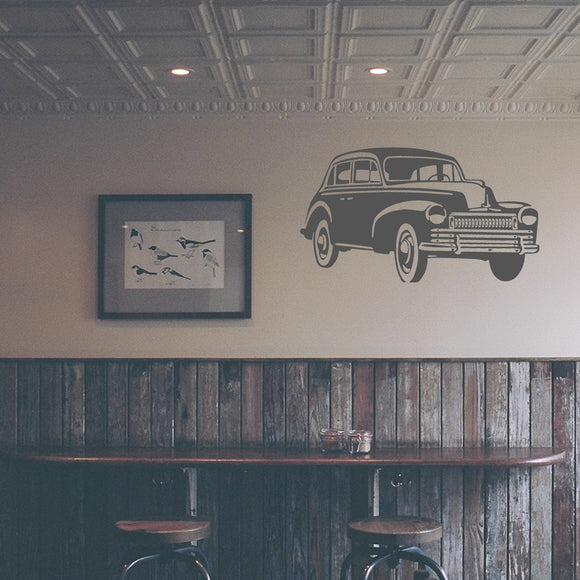 Vintage car | Wall Decal | Wall Art | Adnil Creations