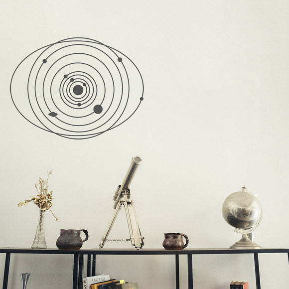 Solar system | Wall Decal | Wall Art | Adnil Creations