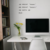 8 Bit Home sweet home | Wall Quote | Wall Quote | Adnil Creations