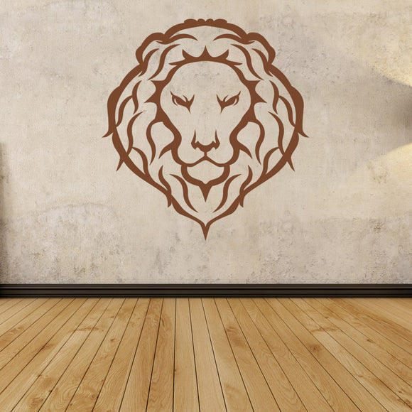 Lion Head | Wall Decal | Wall Art | Adnil Creations