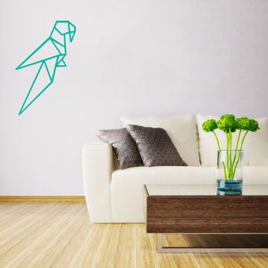 Geometric parrot | Wall Decal | Wall Art | Adnil Creations