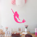 Mermaid | Wall Decal | Wall Art | Adnil Creations