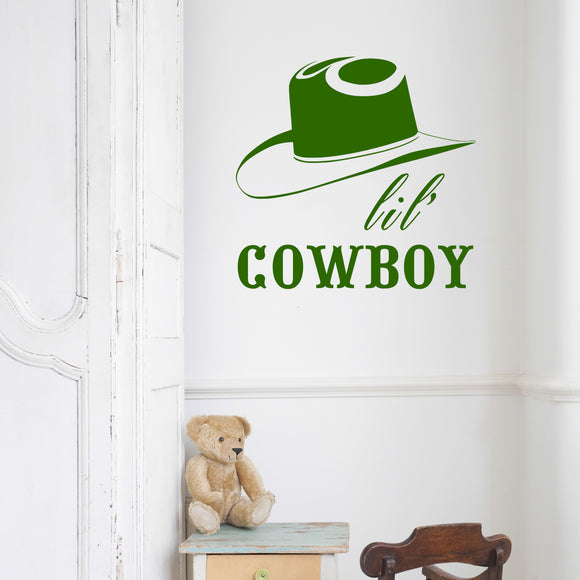 Lil cowboy | Wall Quote | Wall Quote | Adnil Creations