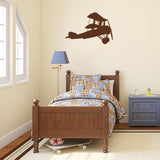 Biplane | Wall Decal | Wall Art | Adnil Creations