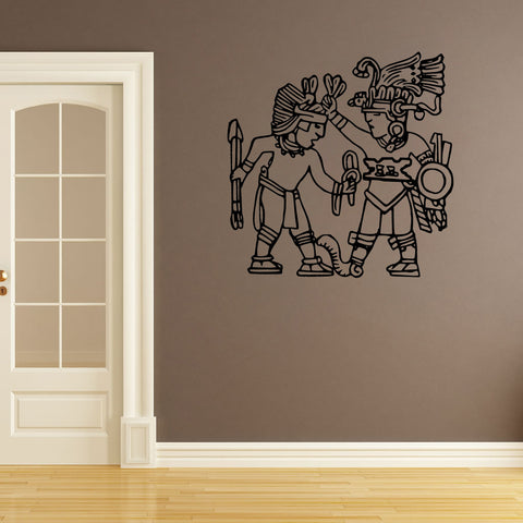 Aztec Men - Wall Art - Adnil Creations