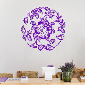 Flower mandala | Wall Decal | Wall Art | Adnil Creations
