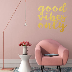 Good vibes only | Wall Quote | Wall Quote | Adnil Creations
