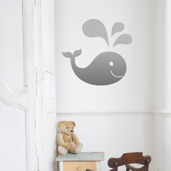 Whale | Wall Decal | Wall Art | Adnil Creations