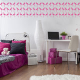 Set of 50 Flamingo Wall Stickers | 2 sizes available to choose from
