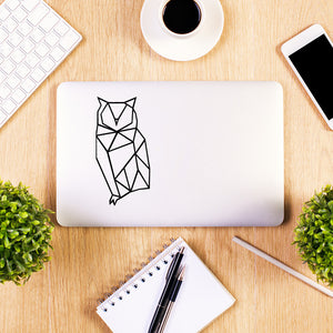 Geometric Owl | Laptop Decal | Macbook Decal | Adnil Creations