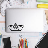 Origami Boat | Laptop Decal | Macbook Decal | Adnil Creations
