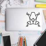 Geometric Frog | Laptop Decal | Macbook Decal | Adnil Creations