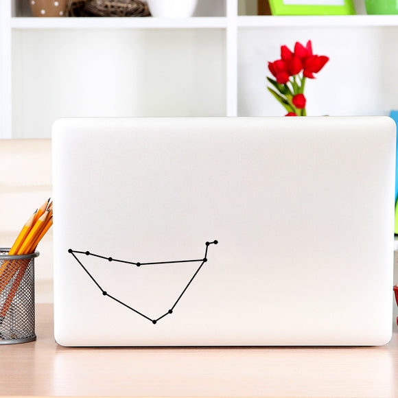 Capricorn Constellation | Laptop Decal | Macbook Decal | Adnil Creations