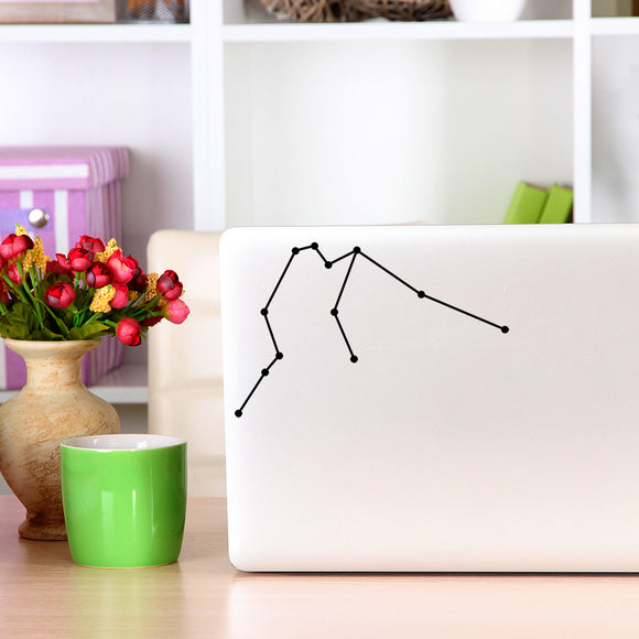 Aquarius Constellation | Laptop Decal | Macbook Decal | Adnil Creations