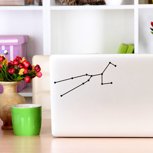 Taurus Constellation | Laptop Decal | Macbook Decal | Adnil Creations