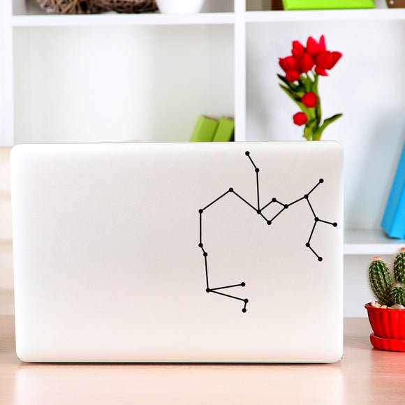 Sagittarius Constellation | Laptop Decal | Macbook Decal | Adnil Creations