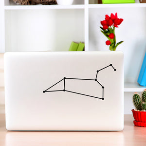 Leo Constellation | Laptop Decal | Macbook Decal | Adnil Creations