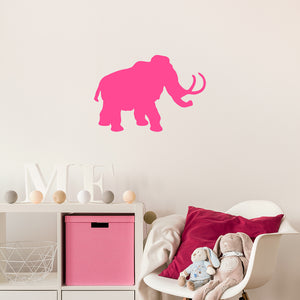 Wooly mammoth | Wall Decal | Wall Art | Adnil Creations