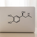 Adrenaline Molecule | Laptop Decal | Macbook Decal | Adnil Creations