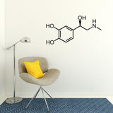 Adrenaline Molecule | Wall Decal | Wall Art | Adnil Creations