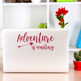 Adventure is waiting | Laptop Decal | Macbook Decal | Adnil Creations