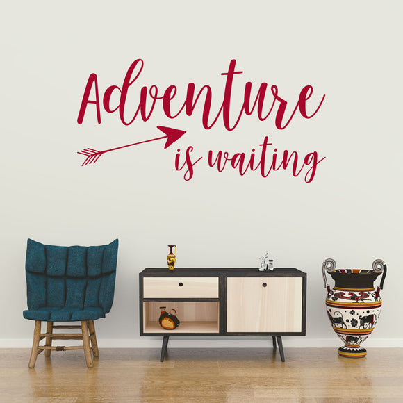Adventure is waiting | Wall Quote | Wall Quote | Adnil Creations