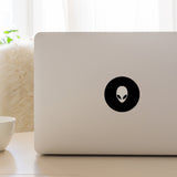 Alien Face | Laptop Decal | Macbook Decal | Adnil Creations