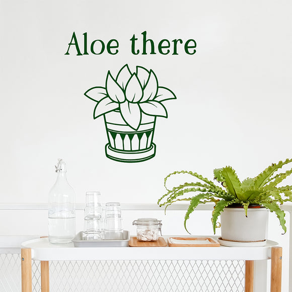 Aloe there | Wall Quote | Wall Quote | Adnil Creations
