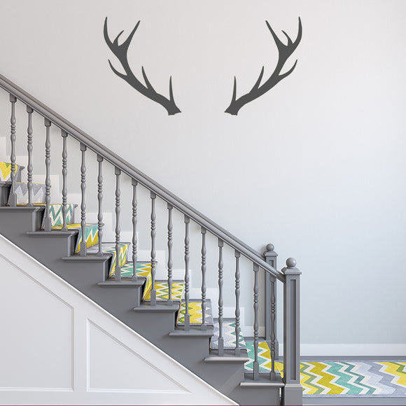 Antlers | Wall Decal | Wall Art | Adnil Creations
