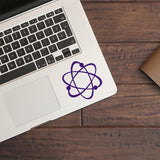 Atom | Trackpad decal | Macbook Decal | Adnil Creations