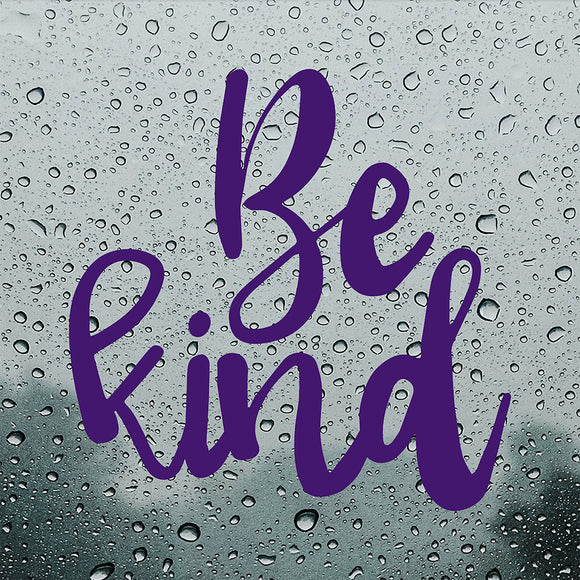 Be Kind | Bumper Sticker | Bumper Sticker | Adnil Creations