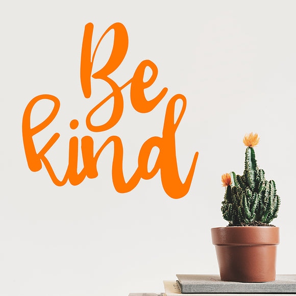 Be kind | Wall Quote | Wall Quote | Adnil Creations