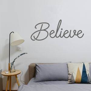 Believe | Wall Quote | Wall Quote | Adnil Creations