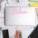 Believe | Laptop Decal | Macbook Decal | Adnil Creations