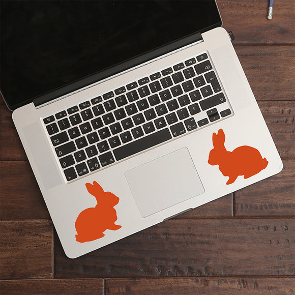Bunny Rabbit | Trackpad decal | Macbook Decal | Adnil Creations